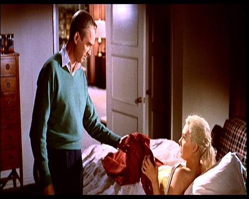 Vertigo by Alfred Hitchcock (1958) James Stewart and Kim Novak
